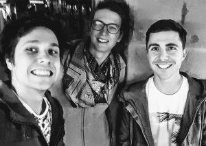 Selfie des trois auteurs